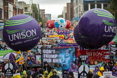 End Austerity Now, Protest the Tory Party Conference, Manchester, 2019 - Jess Hurd - People's Assembly Against Austerity,2010s,2019,activist,activists,against,Anti privatisation,Anti privatisation,anti privatization,Austerity,balloon,balloons,banner,banners,CAMPAIGNING,CAMPAIGNS,Confe