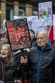 End Austerity Now, Protest the Tory Party Conference, Manchester, 2019 - Jess Hurd - peace movement, People's Assembly Against Austerity,2010s,2019,activist,activists,against,age,ageing population,Austerity,Campaign for nuclear disarmament,CAMPAIGNING,CAMPAIGNS,CND,CND Symbol,Conferen
