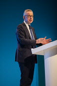 Michael Gove speaking Conservative Party Conference, Manchester, 2019 - Jess Hurd - 29-09-2019