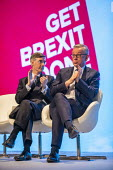 Jacob Rees Mogg and Michael Gove Conservative Party Conference, Manchester, 2019 - Jess Hurd - 2010s,2019,Brexit,Conference,conferences,Conservative,Conservative Party,Conservative Party Conference,conservatives,Get Brexit Done,Jacob Rees Mogg,Manchester,Michael Gove,MP,MPs,Party,POL,political,