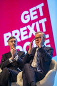 Jacob Rees Mogg and Michael Gove Conservative Party Conference, Manchester, 2019 - Jess Hurd - 29-09-2019