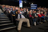 Conservative Party Conference, Manchester, 2019 - Jess Hurd - 2010s,2019,asleep,assembling,Conference,conferences,Conservative,Conservative Party,Conservative Party Conference,conservatives,delegate,delegates,Manchester,Party,POL,political,POLITICIAN,POLITICIANS