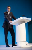 Gavin Williamson MP speaking, Conservative Party Conference, Manchester, 2019 - Jess Hurd - 30-09-2019
