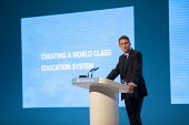 Gavin Williamson MP speaking Education debate at Conservative Party Conference, Manchester, 2019 - Jess Hurd - 30-09-2019