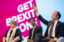 Matt Hancock MP speaking Conservative Party Conference, Manchester, 2019 - Jess Hurd - 30-09-2019