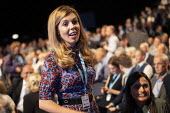 Carrie Symonds Conservative Party Conference, Manchester, 2019 - Jess Hurd - 2010s,2019,Carrie Symonds,Conference,conferences,Conservative,Conservative Party,Conservative Party Conference,conservatives,EMOTION,EMOTIONS,FEMALE,girlfriend,happiness,happy,Manchester,MP,MPs,Party,