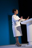 Priti Patel speaking Conservative Party Conference, Manchester, 2019 - Jess Hurd - 2010s,2019,Asian,Asians,BAME,BAMEs,Black,BME,bmes,Conference,conferences,Conservative,Conservative Party,Conservative Party Conference,conservatives,diversity,ethnic,ethnicity,FEMALE,Manchester,minori