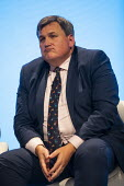 Kit Malthouse speaking, Conservative Party Conference, Manchester, 2019 - Jess Hurd - 2010s,2019,Conference,conferences,Conservative,Conservative Party,Conservative Party Conference,conservatives,Kit Malthouse,Manchester,MP,MPs,Party,POL,Policing,political,politician,politicians,Politi