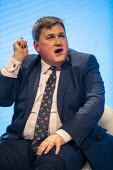 Kit Malthouse speaking, Conservative Party Conference, Manchester, 2019 - Jess Hurd - 01-10-2019