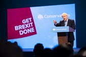 Boris Johnson speaking Conservative Party Conference, Manchester, 2019 - Jess Hurd - 2010s,2019,Boris Johnson,Conference,conferences,Conservative,Conservative Party,Conservative Party Conference,conservatives,Get Brexit Done,Manchester,Party,POL,political,POLITICIAN,POLITICIANS,Politi