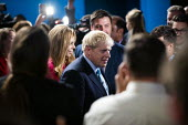 Boris Johnson speaking Conservative Party Conference, Manchester, 2019 - Jess Hurd - 2010s,2019,Boris Johnson,Carrie Symonds,Conference,conferences,Conservative,Conservative Party,Conservative Party Conference,conservatives,delegate,delegates,girlfriend,Manchester,Party,POL,political,