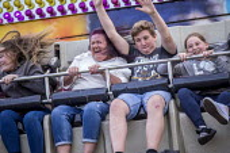 Fairground ride, Torbay Airshow 2017 - Paul Box - 03-05-2017
