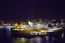 Corsica Ferries - Sardinia Ferries ship, Port of Nice, France - Paul Box - 28-06-2013
