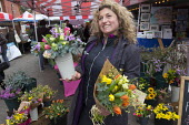 Keeds Farm flowers flourists, Tobacco factory Market, Bristol - Paul Box - 20-03-2016