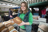 Bakery stall Whiteladies Road Farmers' Market, Bristol - Paul Box - 19-03-2016