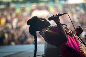 Downs Festival, Bristol, Nigerian singer Eno Williams, Ibibio Sound Machine - Paul Box - 02-09-2017
