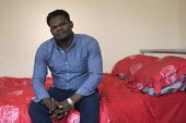 Sudanese refugee living in a home renovated by Ashley Community housing, Bristol - Paul Box - 24-04-2018