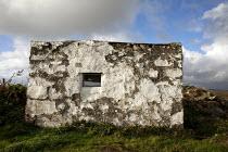 Whitewashed stone shed, Connemara, Ireland - David Mansell - 02-10-2012