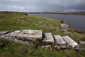 Remains of the Marconi Radio Station, Clifton, Connemara, Ireland. Guglielmo Marconi, opened his mostly westerly radio station in 1907 when commercial signalling began between Clifton and Cape Breton... - David Mansell - 03-10-2012