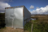 Recycled shipping container used as a hay store, Ireland - David Mansell - 05-10-2012
