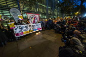 Vigil after 39 tragic migrant deaths, Home Office, London. End the hostile environment called by Stand up to Racism - Jess Hurd - 24-10-2019