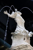 Fons Americanus fountain by Kara Walker, Turbine Hall, Tate Modern. Installation by black American artist Kara Walker is loosely based on the Victoria monument outside Buckinham Palace. It is a powefu... - Martin Mayer - 03-10-2019