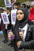 Justice for Mohammed Yassar Yaqub, parents joins annual United Families and Friends Campaign march against deaths in police custody, Whitehall, Westminster, London. - Jess Hurd - 26-10-2019