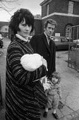 Young family on a council estate, Brixton, London 1972 - Peter Arkell - 1970s,1972,adult,adults,babies,baby,Brixton,child,CHILDHOOD,children,cities,City,council,Council Housing,Council Housing,couple,COUPLES,estate,ESTATES,families,family,female,females,girl,girls,Housing