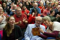 Fran Boait PPC, Jeremy Corbyn Labour Party Election Campaign Rally Gloucester - John Harris - 02-11-2019