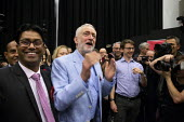 Jeremy Corbyn speaking Labour Party Election Campaign Rally, Swindon - John Harris - 2010s,2019,Asian,Asians,audience,AUDIENCES,BAME,BAMEs,Black,Black and White,BME,bmes,campaign,campaigning,CAMPAIGNS,DEMOCRACY,diversity,Election,elections,ethnic,ethnicity,General Election,Jeremy Corb