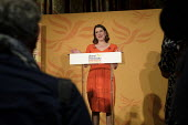 Jo Swinson speaking Liberal Democrats General Election Campaign launch, London - Philip Wolmuth - 05-11-2019