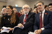 Jeremy Corbyn and Keir Starmer, Brexit speech, Harlow, Essex - Jess Hurd - 2010s,2019,Brexit,campaign,campaigning,CAMPAIGNS,DEMOCRACY,ELECTION,elections,Essex,FEMALE,general,General Election,Harlow,Jeremy Corbyn,Keir Starmer,Labour Party,MP,MPs,people,person,persons,POL,poli