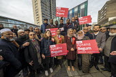 Apsana Begum General Election Labour Party campaign launch, Chrisp Street Market for Poplar and Limehouse constituency, East London. - Jess Hurd - 2010s,2019,Apsana Begum,Asian,Asians,BAME,BAMEs,Bengali,bengalis,Black,BME,bmes,campaign,campaigning,CAMPAIGNS,candidate,candidates,Chrisp Street,cities,City,constituency,DEMOCRACY,diversity,East Lond