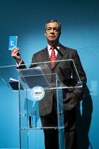 Nigel Farage speaking, Brexit Party General Election Contract launch, Millbank, London - Jess Hurd - 22-11-2019