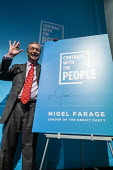 Nigel Farage speaking, Brexit Party General Election Contract launch, Millbank, London - Jess Hurd - 22-11-2019