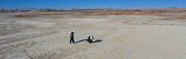 Hanksville, Utah, USA: Mars Desert Research Station. Researchers simulate living on Mars. 'Expedition Boomerang' brought Australian researchers to the station, who donned space suits to explore their... - Jim West - 14-09-2017