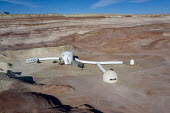Hanksville, Utah, USA: Mars Desert Research Station. Researchers simulate living on Mars - Jim West - 14-09-2017