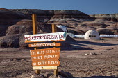 Hanksville, Utah, USA: Researchers simulate living on Mars at the Mars Desert Research Station. 'Expedition Boomerang' brought Australian researchers to the station. - Jim West - 13-11-2019
