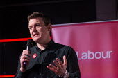 Stuart Brady PPC, Labour Youth Manifesto launch rally Loughborough - John Harris - 23-11-2019