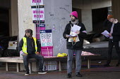 UCU strike for pensions and pay, Coventry University, leafleting students - John Harris - 26-11-2019