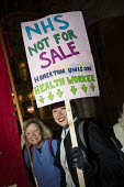NHS Not for Sale, No to Trump, No to NATO Protest London - Jess Hurd - 03-12-2019