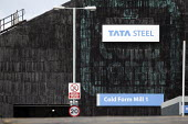 Tata Steel Corby Works. Cold Form Mill producing tubes from steel strip at the former BSC plant, Corby, Northamptonshire - John Harris - 07-12-2019