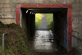 Underpass, Hazel Leys, Corby, Northamptonshire - John Harris - 2010s,2019,Council Housing,Council Housing,excluded,exclusion,HARDSHIP,impoverished,impoverishment,INEQUALITY,Marginalised,people,POOR,poverty,precariat,precarious,public services,scene,scenes,service