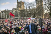 Jeremy Corbyn speaking Labour Party Election Campaign Rally Bristol - Paul Box - 09-12-2019