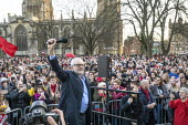 Jeremy Corbyn speaking Labour Party Election Campaign Rally Bristol - Paul Box - 2010s,2019,campaign,campaigning,CAMPAIGNS,DEMOCRACY,election,elections,General Election,Jeremy Corbyn,Labour Party,Party,POL,political,POLITICIAN,POLITICIANS,Politics,rallies,rally,SPEAKER,SPEAKERS,sp