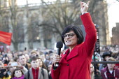 Thangam Debbonaire MP speaking Labour Party election campaign rally Bristol - Paul Box - 2010s,2019,Asian,Asians,BAME,BAMEs,Black,BME,bmes,campaign,campaigning,CAMPAIGNS,DEMOCRACY,diversity,election,elections,ethnic,ethnicity,FEMALE,General Election,Labour Party,minorities,minority,Party,