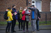 Labour Party members campaigning on the streets, General Election Campaign, Dinnington, South Yorkshire - John Harris - 11-12-2019