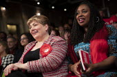 Emily Thornberry, Dawn Butler general election rally, Hoxton Docks, Hackney, East London - Jess Hurd - 2010s,2019,BAME,BAMEs,Black,Black and White,BME,bmes,campaign,campaigning,CAMPAIGNS,Dawn,Dawn Butler,DEMOCRACY,diversity,DOCK,Docks,East,election,elections,Emily Thornberry,ethnic,ethnicity,eve of pol