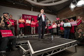 Jeremy Corbyn speaking, general election rally, Hoxton Docks, Hackney, East London. - Jess Hurd - 2010s,2019,campaign,campaigning,CAMPAIGNS,DEMOCRACY,DOCK,Docks,East London,election,elections,eve of poll,General Election,Hackney,HARBOUR,Jeremy Corbyn,Labour Party,MP,MPs,POL,political,politician,po