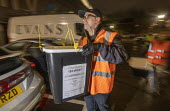 Ballot boxes arriving, vote counting, Bristol - Paul Box - 12-12-2019